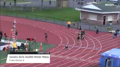 High School Girls' 4x200m Relay Varsity, Finals 2