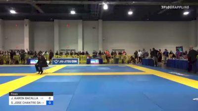 JOSHUA AARON BACALLAO vs SAMIR JOSE CHANTRE DAHAS 2021 American National IBJJF Jiu-Jitsu Championship