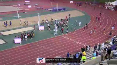 High School Boys' 4x400m Relay 3A, Finals 1