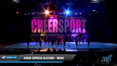 Cheer Express Allstars - Divas [2021 L2 Junior - Medium Day 2] 2021 CHEERSPORT National Cheerleading Championship