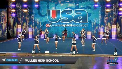 Mullen High School [2020 Co-Ed Varsity Show Cheer Intermediate Day 1] 2020 USA Spirit Nationals
