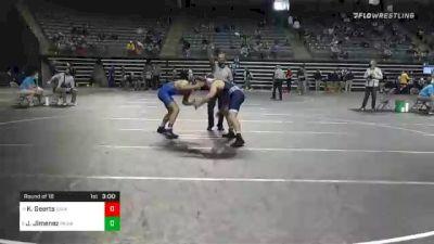 165 lbs Prelims - Keaton Geerts, Iowa Central vs Julian Jimenez, Muskegon