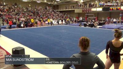 Mia Sundstrom - Floor, DU - Denver Winterfest Classic (NCAA)
