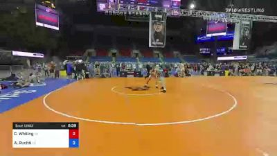 182 lbs Consi Of 4 - Clayton Whiting, Wisconsin vs Asher Ruchti, Oregon