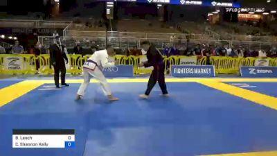 Brent Leach vs Christopher Shannon Kelly 2020 World Master IBJJF Jiu-Jitsu Championship