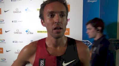 Chris Derrick PRs in 3K, says he ran to his level of fitness