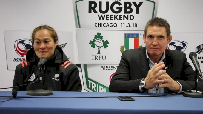 Black Ferns Press Conference