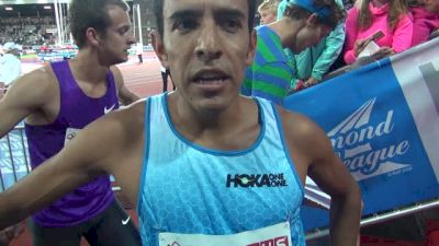 Leo Manzano frustrated with his 800 but ready for Beijing