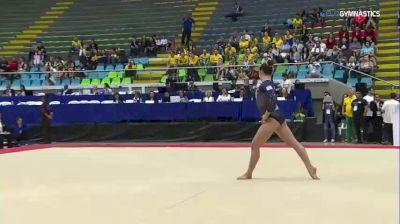 Martina Dominici - Floor, Argentina - 2018 Pacific Rim Championships