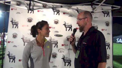 Stephanie Garcia runs world lead mile time FTW at Sir Walter Miler