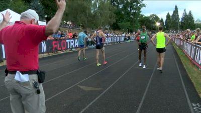 Men's Mile (HUGE UPSET! Unsponsored Peter Callahan takes down Rupp)
