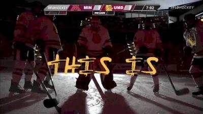 Full Replay - Minnesota vs Minnesota Duluth | WCHA W