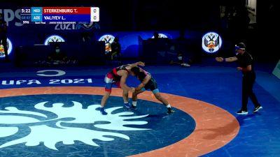 87 kg Semifinal - Tyrone Sterkenburg, Ned vs Lachin Valiyev, AZE