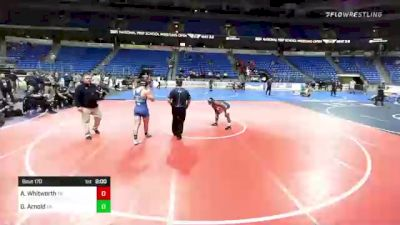 170 lbs Final - Gabe Arnold, Pennsylvania vs Alex Whitworth, Tennessee