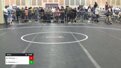 Consolation - Mason Phillips, North Carolina vs Austin Reames, Gardner-Webb
