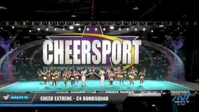 Cheer Extreme - C4 BombSquad [2021 L4 Senior Coed - Medium Day 2] 2021 CHEERSPORT National Cheerleading Championship