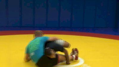 Dake And Escobedo Working Leg Attacks