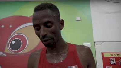 Hassan Mead suffered cramps half-way through 10K, looks forward to learning the event