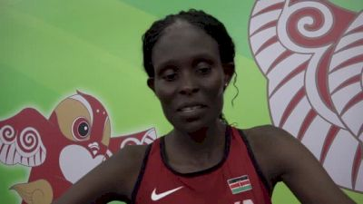 Sally Kipyego finishes fifth in world champs 10K