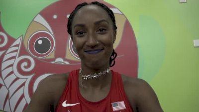 Defending World Champion Brianna Rollins pleased with 100m hurdle prelim