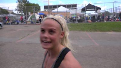 Sara Sigmundsdottir Wins Event 1