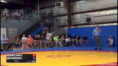 61kg Match Kendric Maple (NYAC) vs. Jon Morrison (Titan Mercury Wrestling Club)
