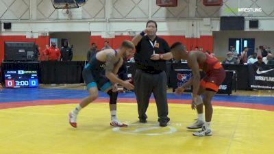 70 kg Quarterfinal - David Carr, ISU/Unattached vs Dylan Ness, Minnesota Storm
