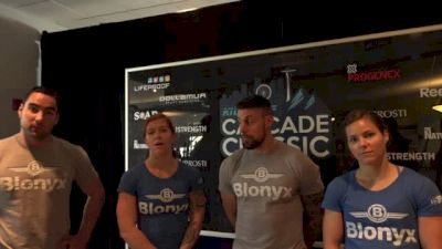 Team Blonyx at the 2015 Cascade Classic
