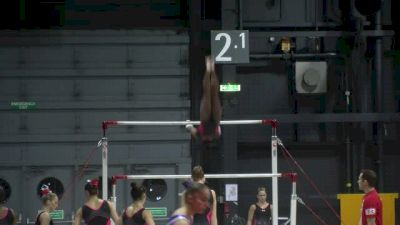 Simone Biles - Full Bar Routine, 2015 World Championships Training