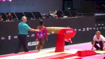 USA, Simone Biles Vault, 2 VT - 2015 World Championships Podium Training