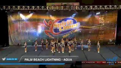 Palm Beach Lightning - AQUA [2021 L3 Youth Day 1] 2021 South Florida DI & DII Nationals