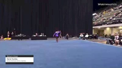 Sarai Hunley - Women's Group, Great American Gymn. Express - 2021 Women's Xcel Region 4 Championships