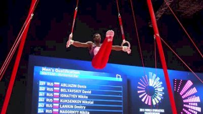 USA, Marvin Kimble, SR - 2015 World Championships Podium Training