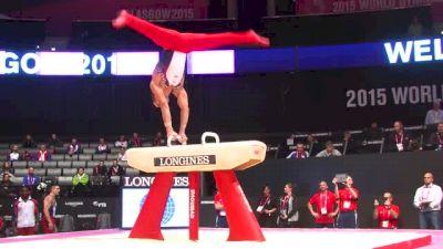 USA, Danell Leyva, PH - 2015 World Championships Podium Training