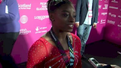 Simone Biles On Martha's Feedback & Her Heavy Hardware - Qualifications, 2015 World Championships