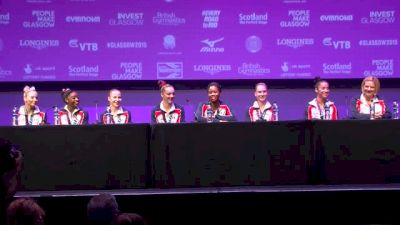 Team USA Joked About Going On Strike - Team Finals, 2015 World Championships