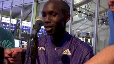 Wilson Kipsang prepared to defend his NYC Marathon title