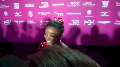 Simone Biles Gives Herself A Heart Attack, Wins Gold All-Around - AA Finals, 2015 World Championships