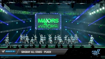 Singray All Stars - Peach [2018 Medium All Girl 5 Day 1] The Majors