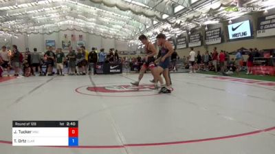 70 kg Round Of 128 - Jake Tucker, Michigan State vs Taylor Ortz, Clarion RTC