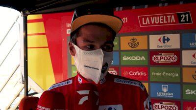 Primoz Roglič: 'Luckily, I Had The Legs' Stage 20 - 2021 Vuelta A España