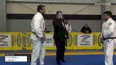 Joao E.S. Rocha vs Leonardo Correa 2020 American National IBJJF Jiu-Jitsu Championship