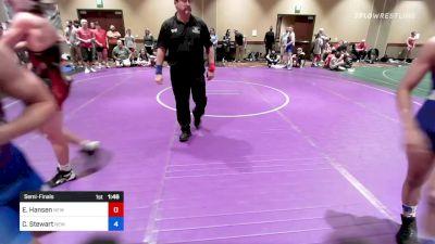 138 kg Semifinal - Nolan Liess, Genesee Valley Wrestling Club vs Connor Gregory, Journeymen Wrestling Club