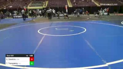 145 lbs 3rd Place - Seth Dawkins, Ford Dyansty WC vs Thomas Thongseng, Cali Warriors