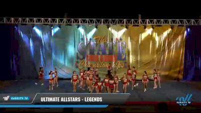Ultimate Allstars - Legends [2021 L4 Senior Coed - D2 - Medium Day 2] 2021 The STATE DI & DII Championships