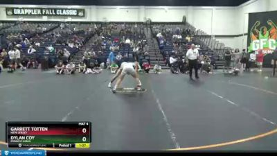125 lbs Cons. Semi - Dylan Coy, Pennsylvania vs Garrett Totten, New Jersey