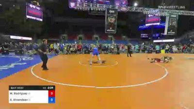 182 lbs Consi Of 8 #1 - Matthew Rodriguez, Kansas vs Adam Ahrendsen, Iowa