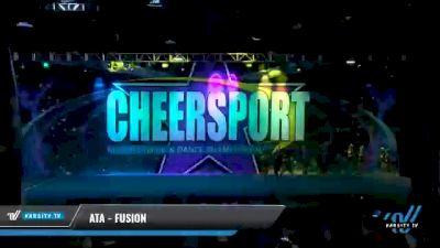 ATA - Fusion [2021 L5 Senior - Small Day 2] 2021 CHEERSPORT National Cheerleading Championship