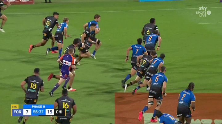 Chiefs Jonah Lowe's Try vs Western Force
