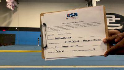 OC All Stars - Junior White - Foothill Ranch [L1 Junior] 2021 USA All Star Virtual Championships